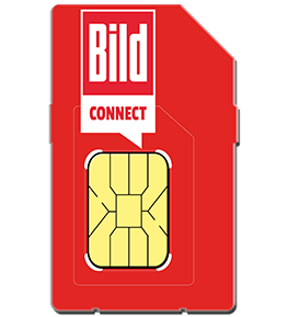 BILDconnect LTE Prepaid 9 Cent + Data M